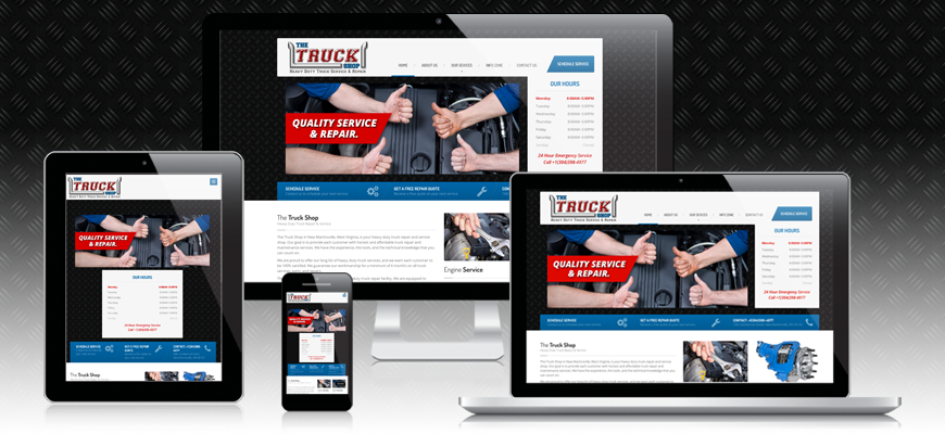 The Truck Shop Website